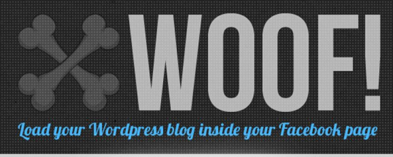 Integrare blog WordPress su Facebook grazie a Woof plugin