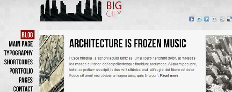 WordPress blog theme: crea un blog WordPress con Big City theme
