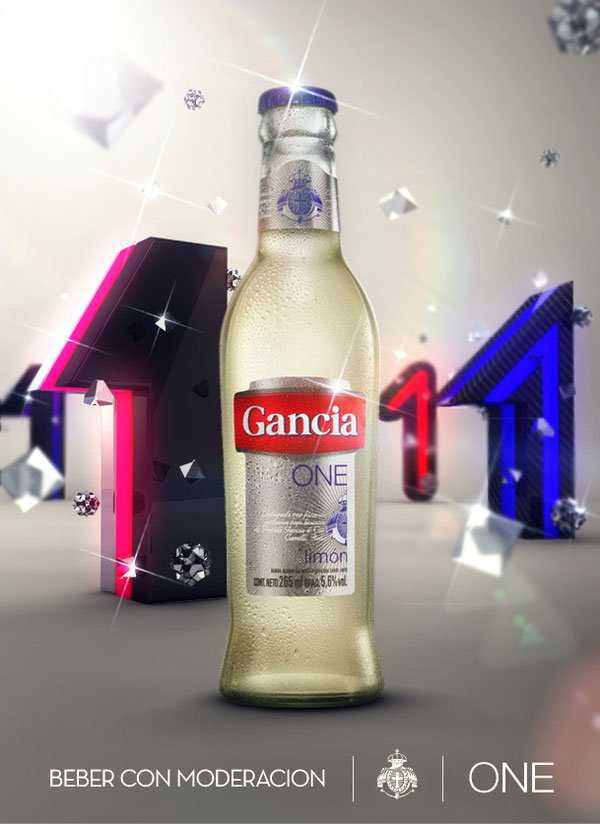 Gancia One 360º Campaign Print Inspiration