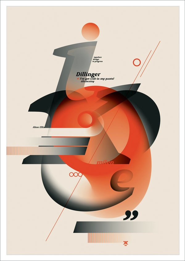 Typographic posters Print Inspiration
