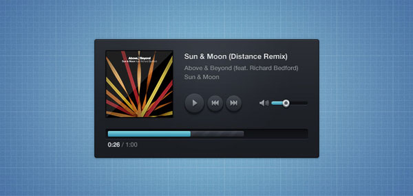 Music Player Skin