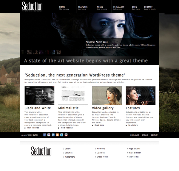 Seduction Tema per WordPresss