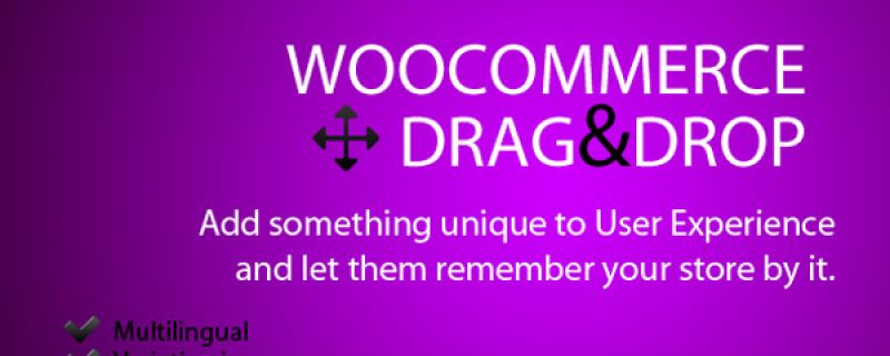 Drag&drop per il carrello WooCommerce con plugin WordPress