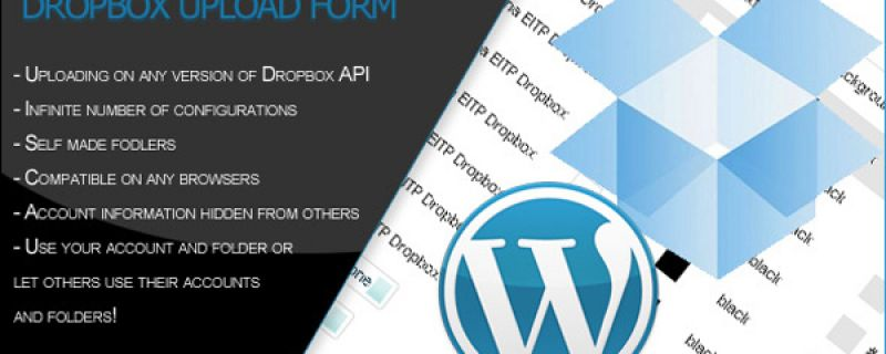 Caricare file in remoto da WordPress: Dropbox upload form