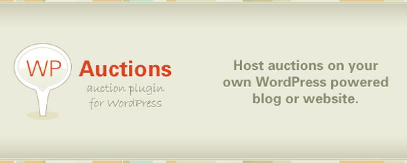 Aste online su siti WordPress facili da realizzare con il plugin WP Auctions