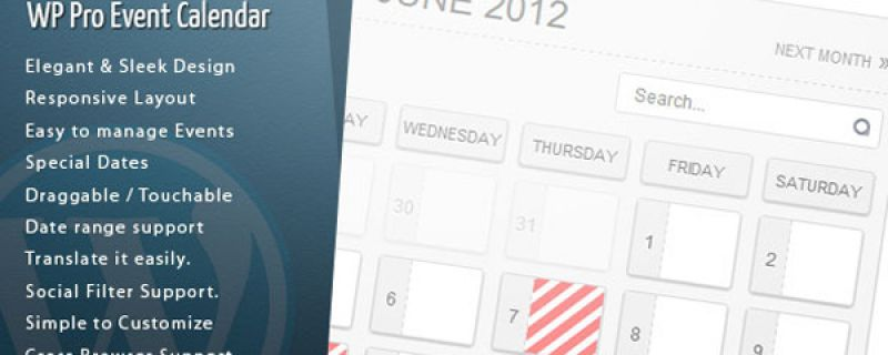 Plugin per calendario eventi da utilizzare su siti WordPress