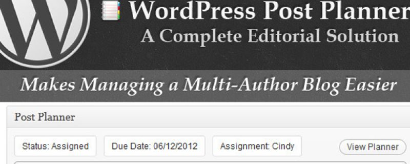 Gestire un blog WordPress multi-autore con un semplice plugin