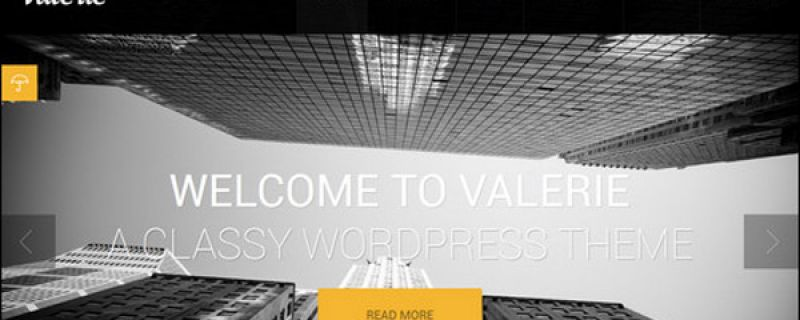 Template WordPress di colore scuro marzo 2013