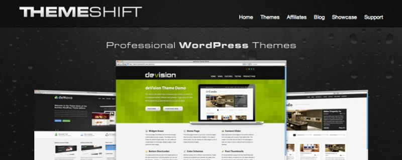 Temi WordPress di qualità professionale su Themeshift.com