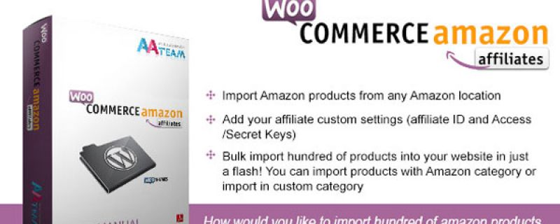 Plugin WordPress affiliazione: WooCommerce Amazon Affiliates