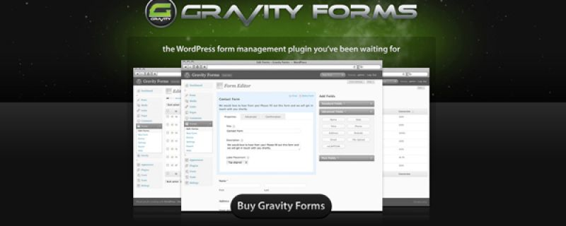Form per ordini e preventivi su WordPress: Gravity Forms
