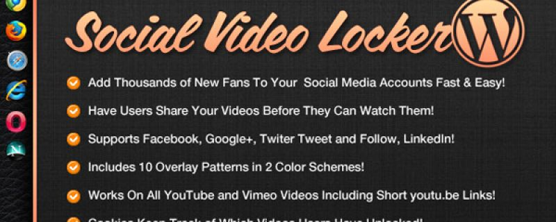 Condividere video da sito WordPress su social networks