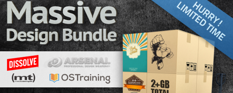 Mega Design Bundle 2: 2,5 GB di grafica a soli 49 dollari