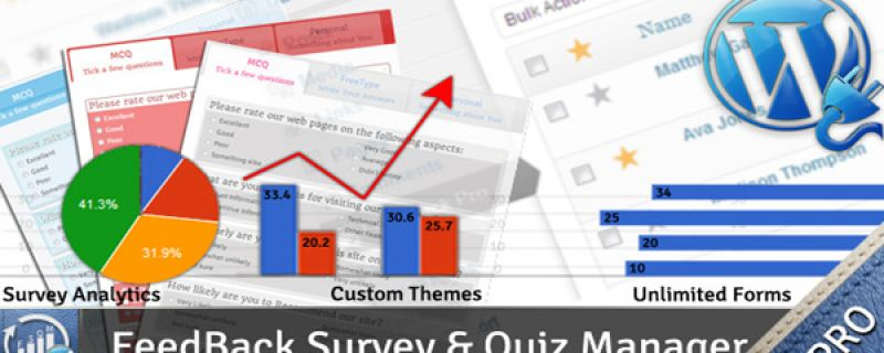 Feedback quiz e raccolta di dati tramite plugin WordPress