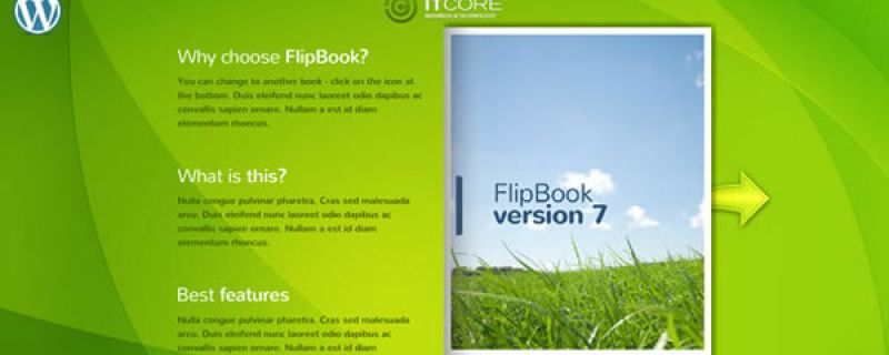 Catalogo sfogliabile online: plugin WordPress FlipBook v7