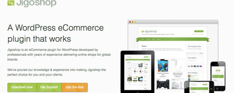 Jigoshop: plugin di ecommerce per siti internet in WordPress