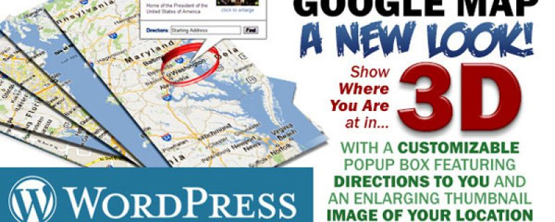 Mappe google plugin wordpress originale per visualizzarle