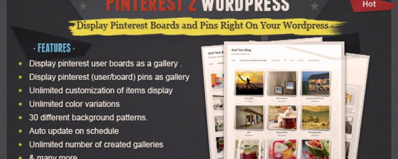 Come collegare Pinterest a WordPress con un plugin per gallery